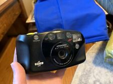 Minolta Freedom Action Zoom 90 Date Point & Shoot 35mm Film Camera Tested w/ Bat