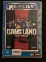 Gangland Trouble In Paradise - PC CD Strategy RPG Sim Game