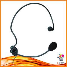 microfono ad archetto cardioide headset a condensatore con filo jack wireless