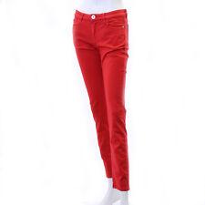 Max Mara weekend GITANO Red Skinny low waist Jeans Pants I38/FR36/US4/UK6