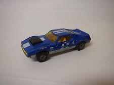 Vintage 1980 LESNEY MATCHBOX #9 CAM CRACKER 1971 AMX Javelin Blue 1:64