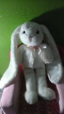 Victoria's Secret Marilyn Bunny Rabbit White Plush Limited Edition 2004 sparkle