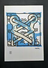 Keith Haring - Lithographie con certificato di  autenticità