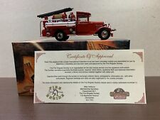 matchbox models of yesteryear YFE 06 Ford AA 1932 Fire Engine