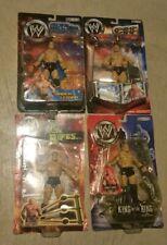 WWE BROCK LESNAR 4 Wrestling Figure Lot Ships 24 hrs Off The Ropes King of Ring