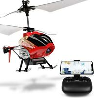 Cheerwing U12S Mini RC Helicopter Camera Remote Control Helicopter Kid Adult Red
