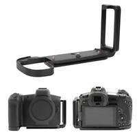 QR L Plate Bracket Camera Hand Grip Holder kit For Canon EOS-R Mirrorless Cam AL