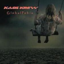 """KAOS Krew """"Global fobia"""" CD [Finnish Progressive metal meets Industrial]"""