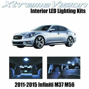 XtremeVision LED for Infiniti M37 M56 2011-2015 (10 Pieces) Cool White Premium..