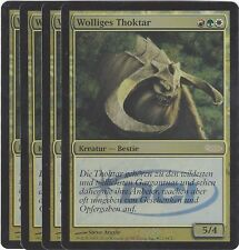 TCG 85 MtG Magic the Gathering Wolliges Thoktar Gateway Promo Foil Playset (4)