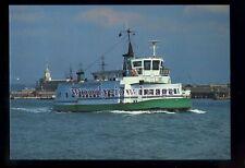 Nostalgic Greetings Card Gosport Ferry Buses /& Warship