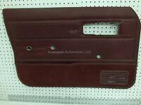 86 JEEP CHEROKEE 4 door Left Driver Side Front Interior Trim Panel Manual Window