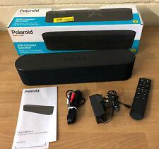 More details for polaroid compact 50w wireless bluetooth tv soundbar speaker optical aux & remote