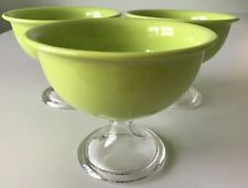 Red Vanilla 14 oz. Green Summer Ice Cream- Cereal Bowls (Set of 3)