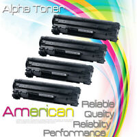 4 PK CRG137 Toner Cartridge for Canon 137 ImageClass LBP151dw MF244dw MF247dw