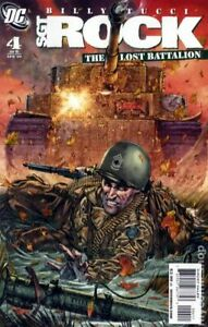 Sgt. Rock The Lost Battalion #4 VF 2009 Stock Image