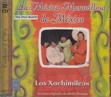 Los Xochimilcas La Musica Maravillosa De Mexico  2CD New