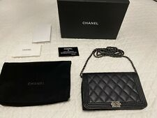 100% Authentic CHANEL WOC Boy Handbag As New