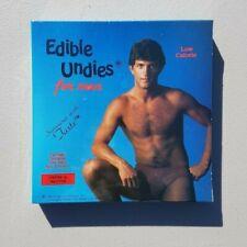Vintage 1980s Mens Sexy Adult Edible Retro Erotica Underwear Panties Flavored