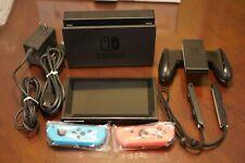 NEW Nintendo Switch Mario Kart 8 Deluxe Bundle - Neon Blue/Red Joy-Con