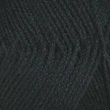 PATONS BLUEBELL 5PLY WOOL  50G BALL  BLACK #4330