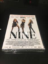 NINE DVD PENELOPE CRUZ NICOLE KIDMAN KATE HUDSON SOPHIA LOREN