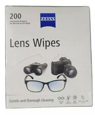 ZEISS 5004841 Pre-Moistened 200 Pieces Lens Cleaning