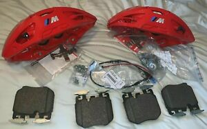 BMW OEM G01 G20 G29 G30 G31 M Performance Brake Kit Front Red Calipers Brand New