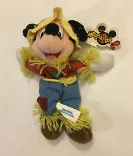 New listing Disney Scarecrow Mickey Mouse 9 inch Mouseketoys Bean Bag Plush Doll Toy w/ Tag