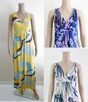 ex Boden Maxi Dress - Boden Floral Print Lupin Maxi Dress
