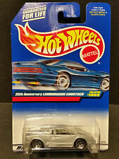 1998 Hot Wheels #1089 25th Anniversary Lamborghini Countach - 24103