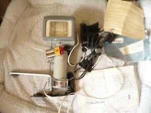METZ Mecablitz 103 Flash Unit With Battery Adaptions & Manual - Bargain!