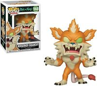 Funko - Pop Animation: Rick & Morty S6- Berserker Squanchy Brand New In Box