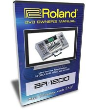 Roland (Boss) BR-1200 DVD Video Training Tutorial Help