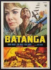 MANIFESTO, BATANGA Mission Batangas VERA MILES, WEAVER, KEITH LARSEN, WAR POSTER