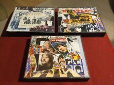 The Beatles : Anthology 1 + 2 + 3 - 3 x 2 CD Boxsets