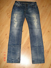 Jeans blau im Destroyed-Look Gr. 28/34 *wie neu*