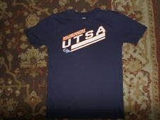 GENUINE STUFF YOUTH SIZE LARGE 14-16 UTSA ROADRUNNERS DARK BLUE T SHIRT