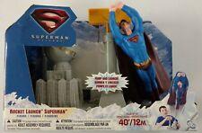 Superman Returns Rocket Launch Superman Figure 2006