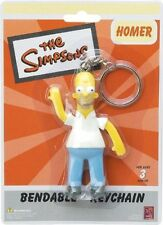"The Simpsons - Homer - 3"" Bendable Keychain / Key Ring"