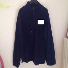 Giaccone giacca piumino felpa invernale uomo blu tg xl,xxl,xxxl