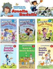 I CAN READ Level 1 & 2 Amelia Bedelia 6 Readers Book Set NEW