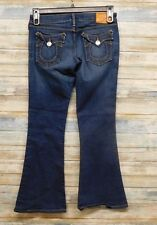 True Religion Jeans 26 x 28 Carrie Flare Leg Women Stretch             ( A-55 )