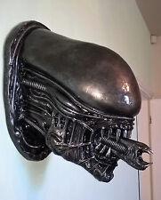 H.R. Giger Classic Alien Prometheus Xenomorph Head Statue Sculpture Rare Art.