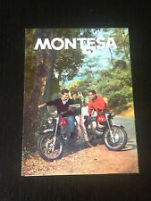 1960s MONTESA IMPALA 175 SPAIN SPANISH RARE BROCHURE PROSPEKT CATALOGO CATALOGUE