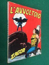 ZAGOR n.22 L'AVVOLTOIO , Ed.Cepim (Marzo 1972) L.200 ORIGINALE NO scritta ROSSA