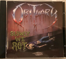 Obituary – Slowly We Rot, CD, Limited Edition, RR 9489-2,