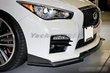 FRP Kit Fit For 14-15 Infiniti Q50 Sedan Stillen Front Lip fit Q50S Sport Bumper