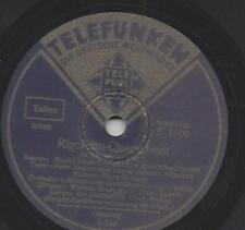 Nennny Bischof + Hans Reinmar + Peter Anders Wilhelm Fr. Reuss : Rigoletto 1939