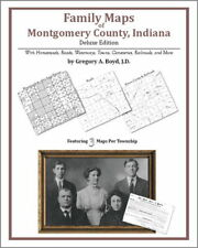 Family Maps Montgomery County Indiana Genealogy IN Plat
